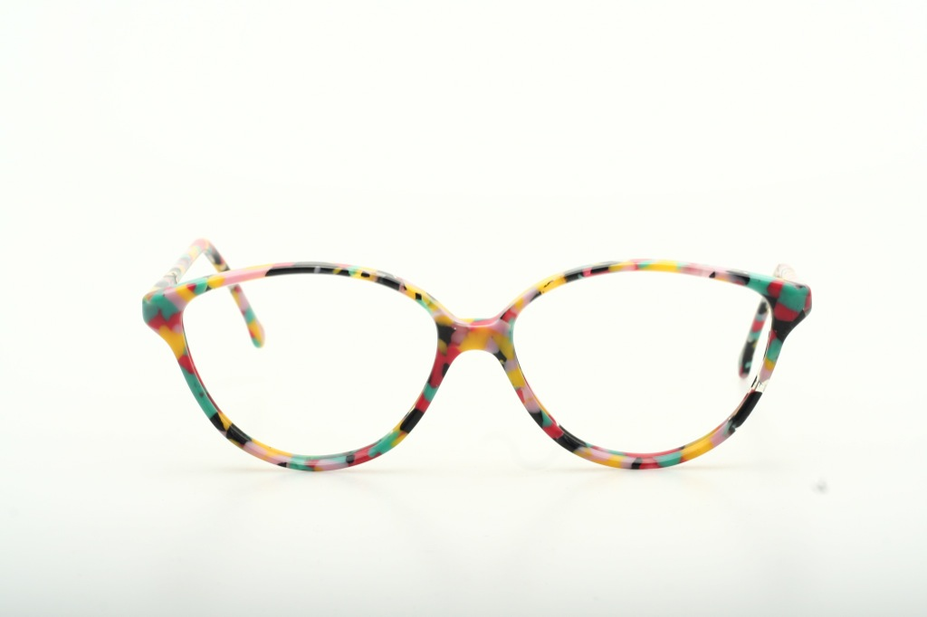 Trendy, eye-catching CONFETTI dotted Vintage eyeglasses by ...