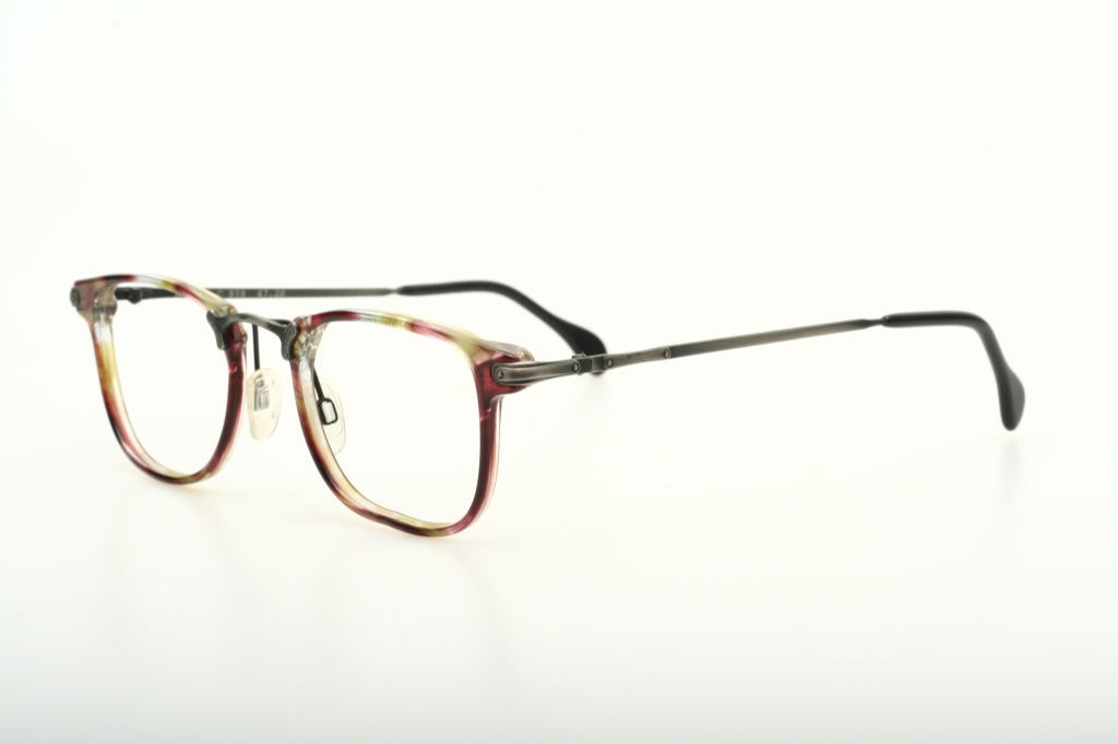 classic thin light combi eyeglasses handmade by axel s