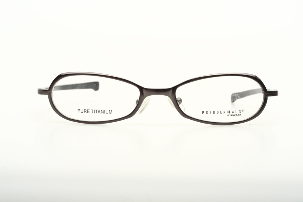 Gungrey 100% TITANIUM eyeglasses/ JAPAN by FREUDENHAUS Mod ...