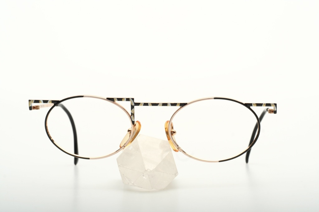 vintage oval design eyeglasses by taxi italy